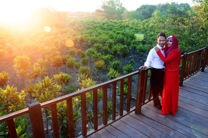 After Wedding Fika and agung by semut abang photograph - 009