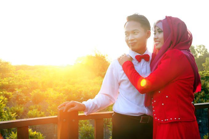 After Wedding Fika and agung by semut abang photograph - 010