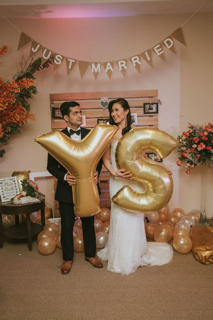 Yayaati and Sam Rooftop Wedding by James Morrison Photo - 049