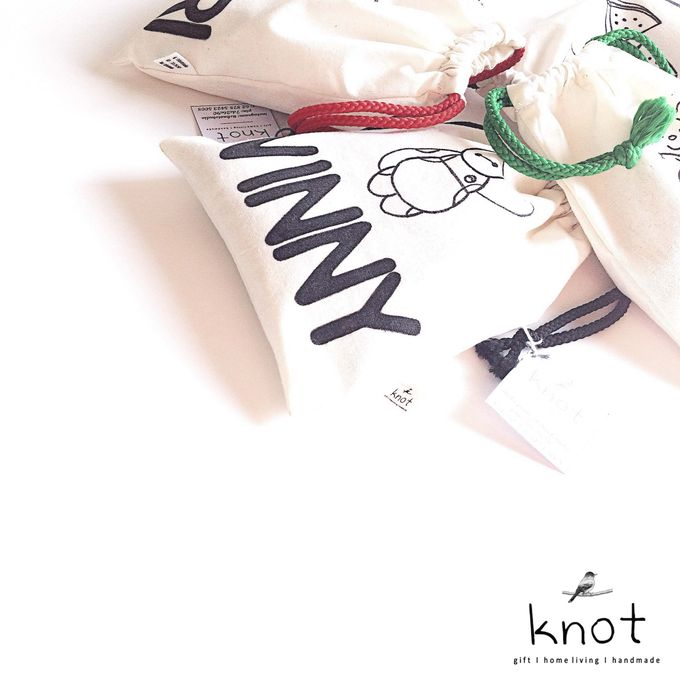 Custom Canvas Pouch by KNOT - 004