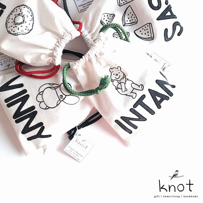 Custom Canvas Pouch by KNOT - 001