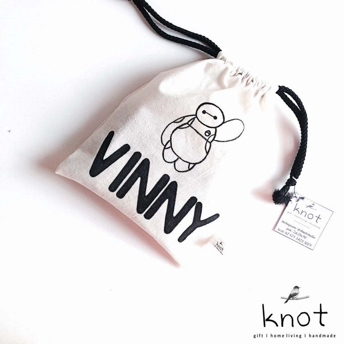 Custom Canvas Pouch by KNOT - 005