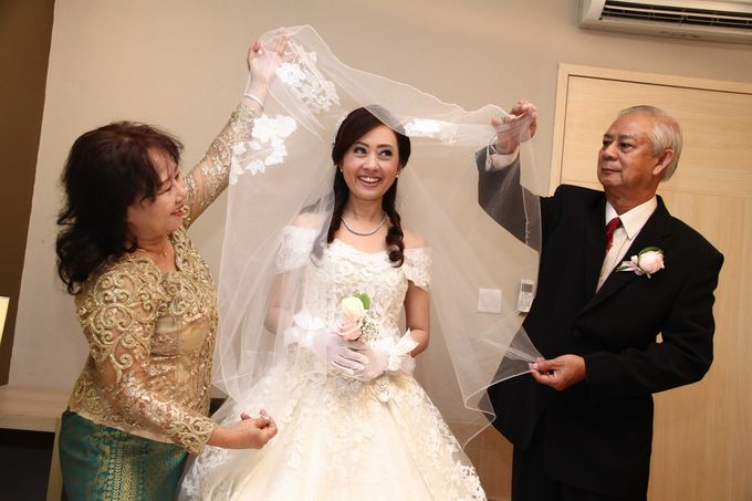 ALBERT & SINTHIA - WEDDING DAY by Spotlite Photography - 015