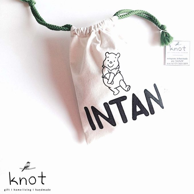 Custom Canvas Pouch by KNOT - 002