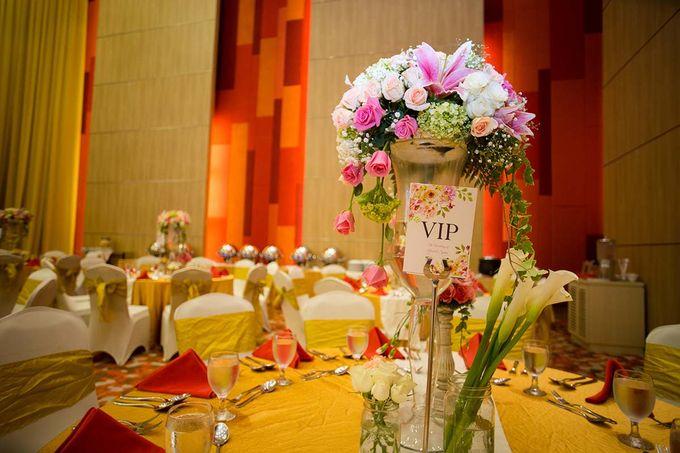 The Wedding of Albert & Sylvia Grand mercure Kemayoran by The Swan Decoration - 016