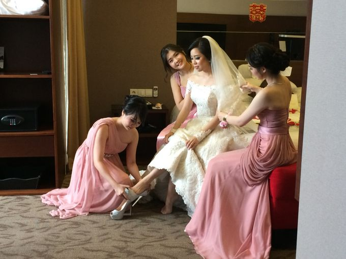 THE WEDDING OF RIDWAN AND EVELYN by JS Wedding Planner Organizer and Entertainment - 008