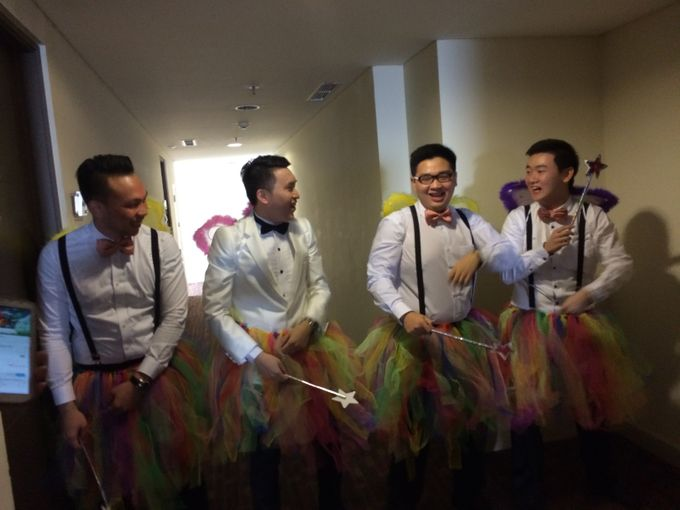THE WEDDING OF RIDWAN AND EVELYN by JS Wedding Planner Organizer and Entertainment - 010