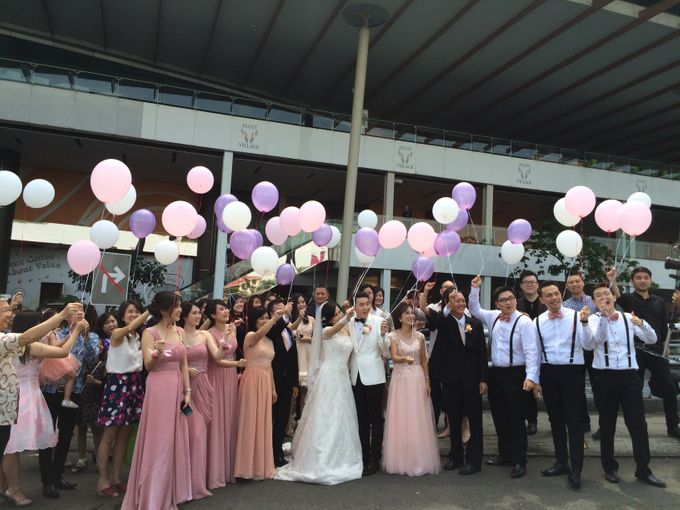 THE WEDDING OF RIDWAN AND EVELYN by JS Wedding Planner Organizer and Entertainment - 017