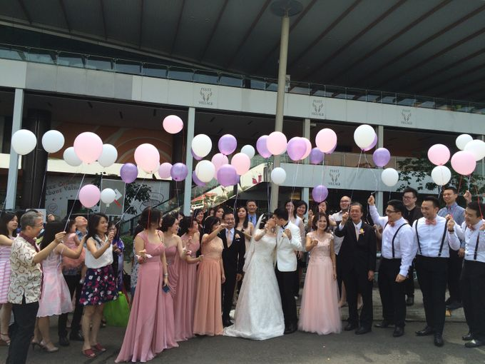 THE WEDDING OF RIDWAN AND EVELYN by JS Wedding Planner Organizer and Entertainment - 018