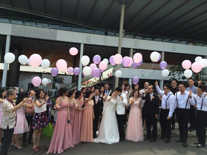 THE WEDDING OF RIDWAN AND EVELYN by JS Wedding Planner Organizer and Entertainment - 019