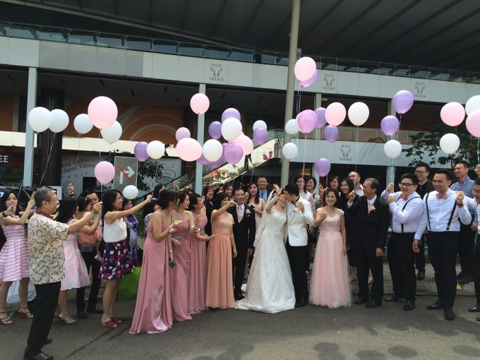THE WEDDING OF RIDWAN AND EVELYN by JS Wedding Planner Organizer and Entertainment - 020