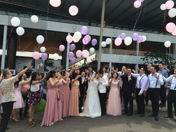 THE WEDDING OF RIDWAN AND EVELYN by JS Wedding Planner Organizer and Entertainment - 021