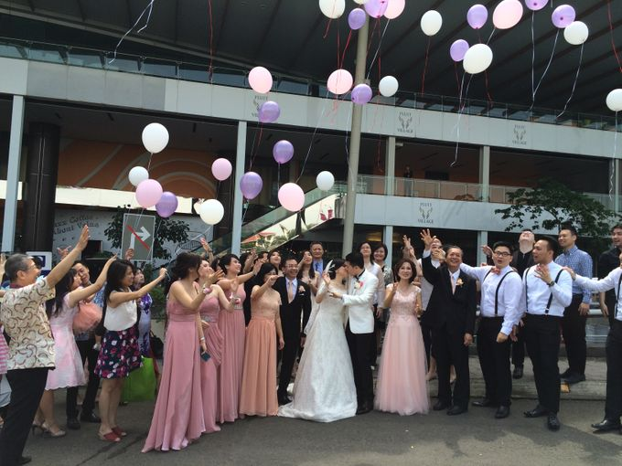 THE WEDDING OF RIDWAN AND EVELYN by JS Wedding Planner Organizer and Entertainment - 022