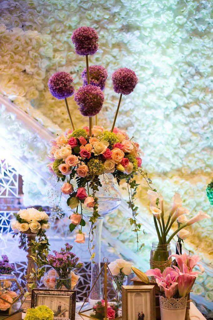 The Wedding of Albert & Sylvia Grand mercure Kemayoran by The Swan Decoration - 022