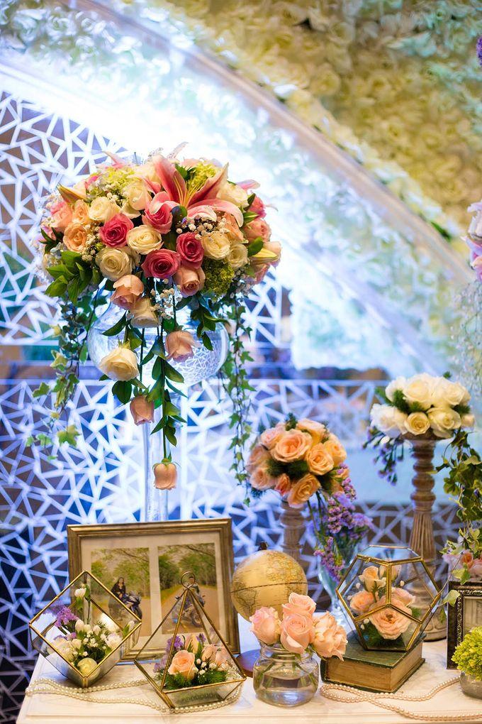 The Wedding of Albert & Sylvia Grand mercure Kemayoran by The Swan Decoration - 023