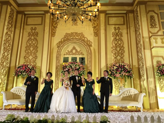 THE WEDDING OF RIDWAN AND EVELYN by JS Wedding Planner Organizer and Entertainment - 033