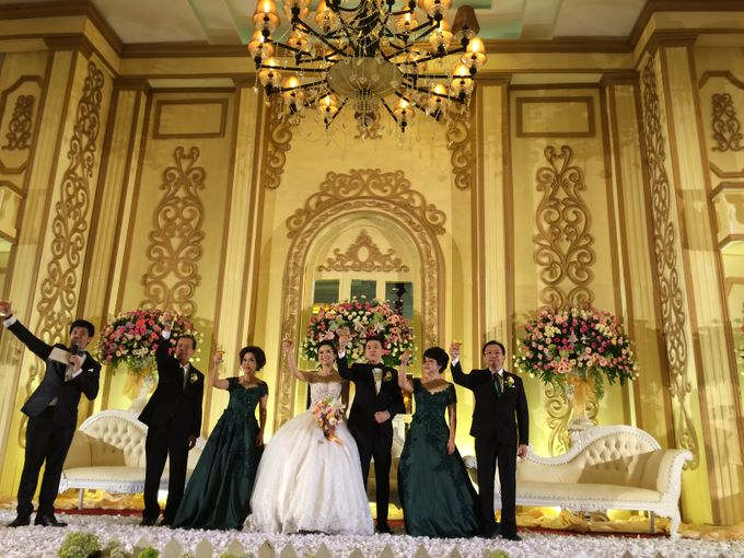 THE WEDDING OF RIDWAN AND EVELYN by JS Wedding Planner Organizer and Entertainment - 034