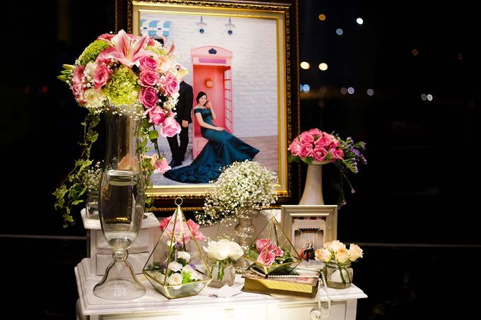 The Wedding of Albert & Sylvia Grand mercure Kemayoran by The Swan Decoration - 025
