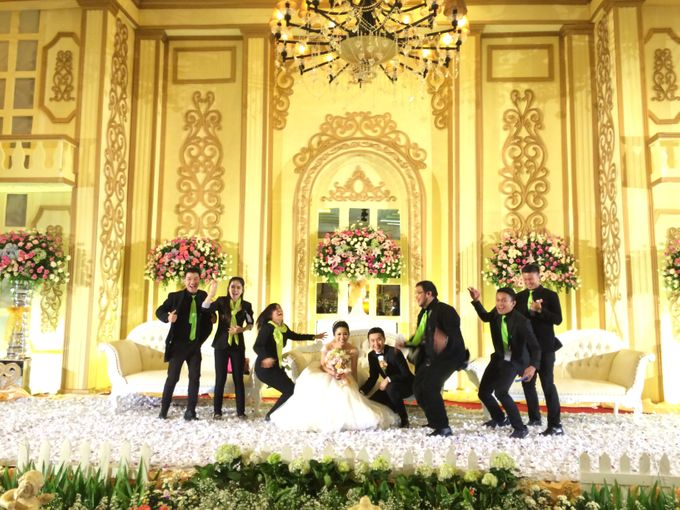 THE WEDDING OF RIDWAN AND EVELYN by JS Wedding Planner Organizer and Entertainment - 045