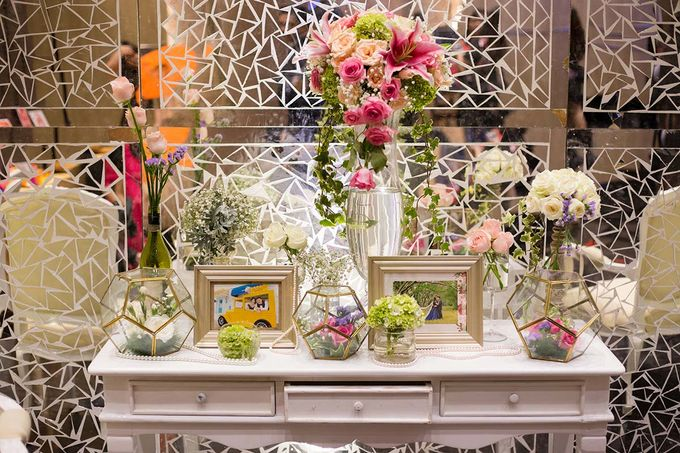 The Wedding of Albert & Sylvia Grand mercure Kemayoran by The Swan Decoration - 026
