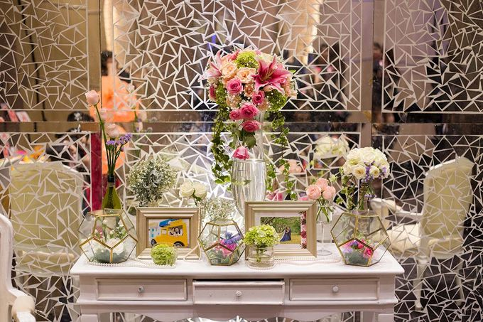 The Wedding of Albert & Sylvia Grand mercure Kemayoran by The Swan Decoration - 027