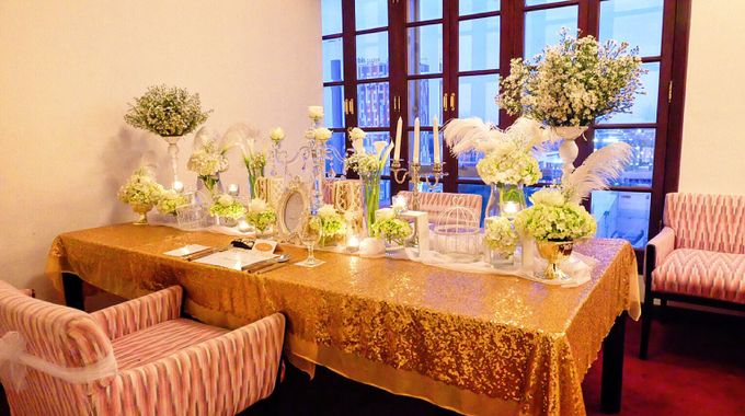 Gold Propose by Valexis Table Design - 010
