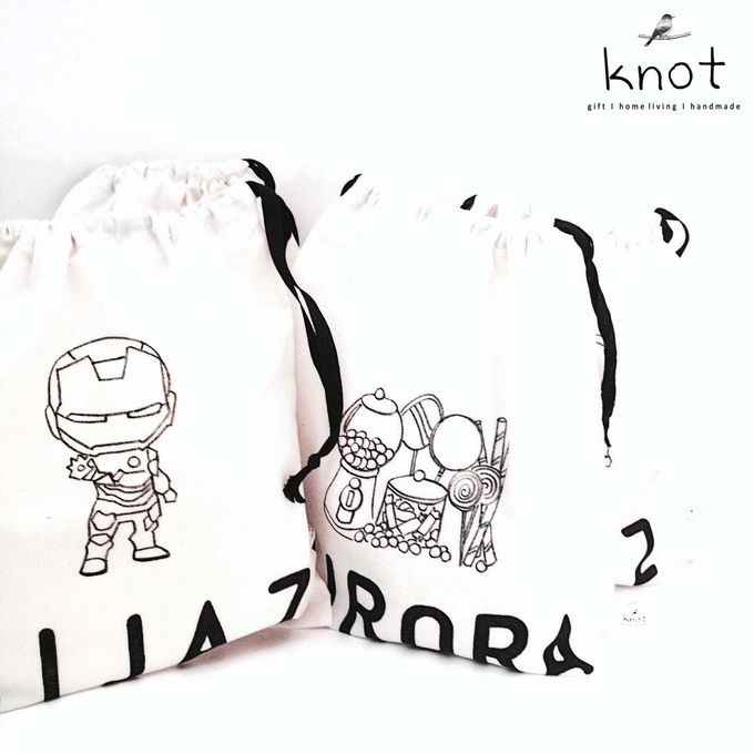 Customize Pouch with Theme by KNOT - 001