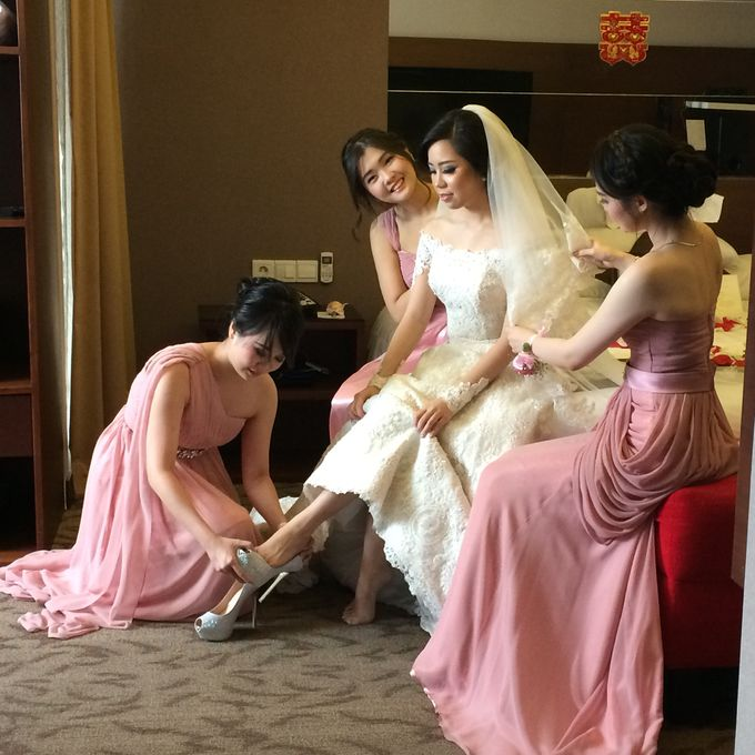 THE WEDDING OF RIDWAN AND EVELYN by JS Wedding Planner Organizer and Entertainment - 048