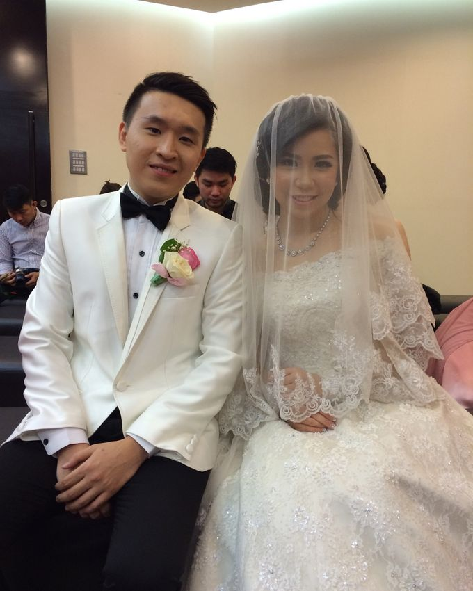 THE WEDDING OF RIDWAN AND EVELYN by JS Wedding Planner Organizer and Entertainment - 050