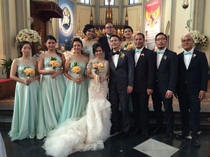 THE WEDDING OF RICKY AND NIA by JS Wedding Planner Organizer and Entertainment - 019