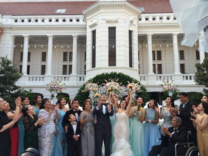 THE WEDDING OF RICKY AND NIA by JS Wedding Planner Organizer and Entertainment - 022