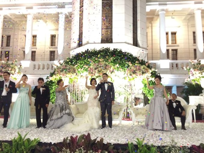 THE WEDDING OF RICKY AND NIA by JS Wedding Planner Organizer and Entertainment - 037