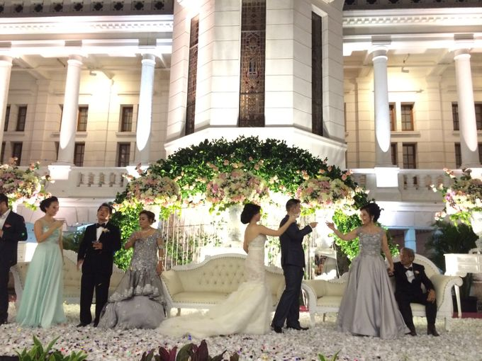 THE WEDDING OF RICKY AND NIA by JS Wedding Planner Organizer and Entertainment - 040