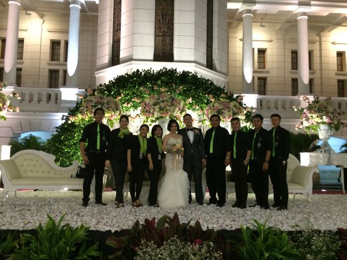 THE WEDDING OF RICKY AND NIA by JS Wedding Planner Organizer and Entertainment - 046