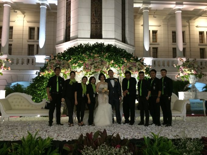 THE WEDDING OF RICKY AND NIA by JS Wedding Planner Organizer and Entertainment - 047