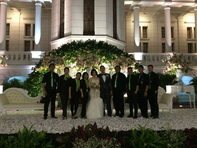 THE WEDDING OF RICKY AND NIA by JS Wedding Planner Organizer and Entertainment - 048