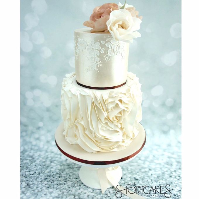 Wedding cakes by Miss Shortcakes - 007