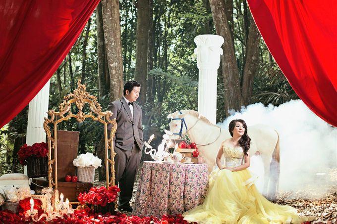 Prewedding of RIcky - Sherly by Gazelle Brides - 003