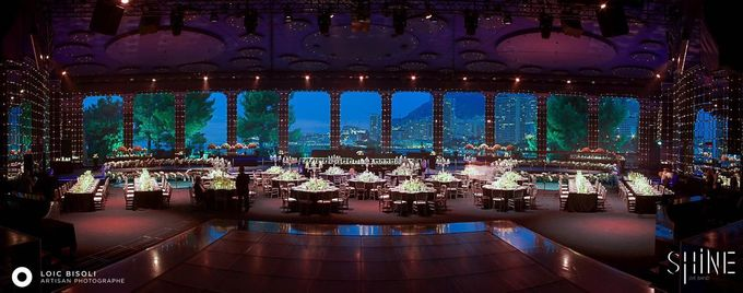 Amazing Wedding in Sporting Monaco by SHINE Live Band - 014