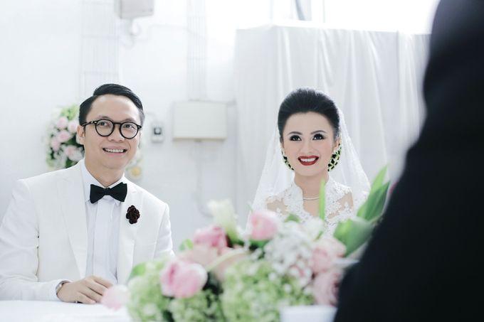 Togi & Jesicca - Holy Matrimony & Batak Ceremony by JAYSU Weddings by Jacky Suharto - 024