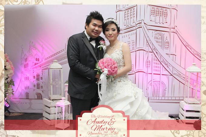 The Wedding of Audy & Murny by After 5 Photobooth - 001
