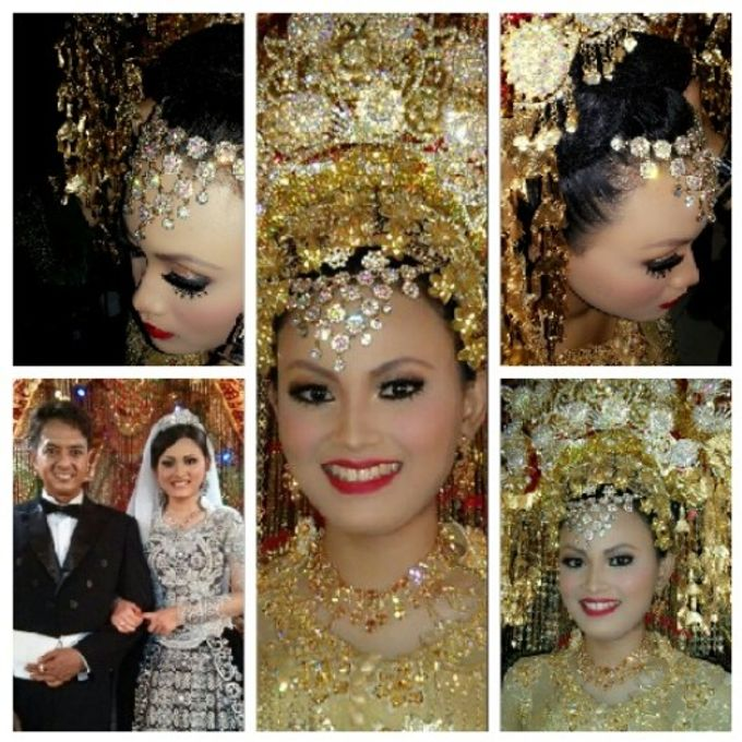 Traditional Modern Wedding by A Yan's Omintara Professional Make up Artist - 002