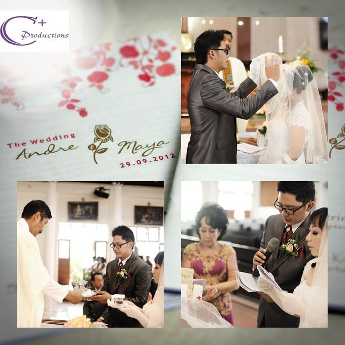 The Weding Andre & Maya by C+ Productions - 004