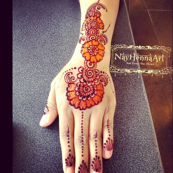 Henna or Mehndi For Fun by Nay Henna Art - 006