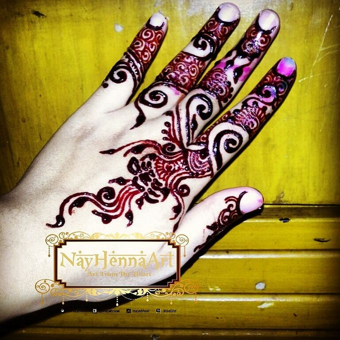 Henna or Mehndi For Fun by Nay Henna Art - 005