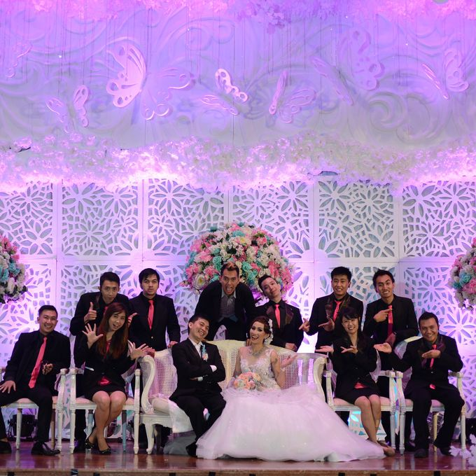 The Wedding of Nicho and Steffie by C+ Productions - 002