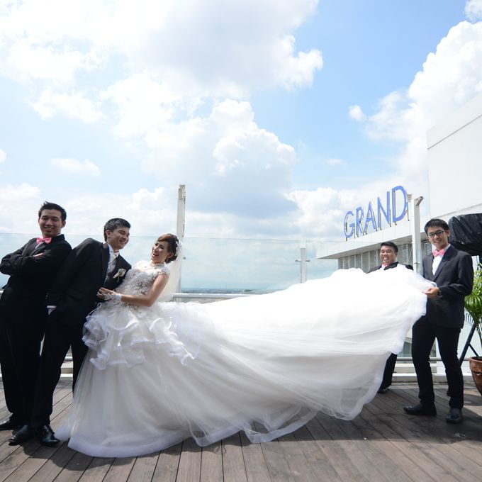 The Wedding of Nicho and Steffie by C+ Productions - 013