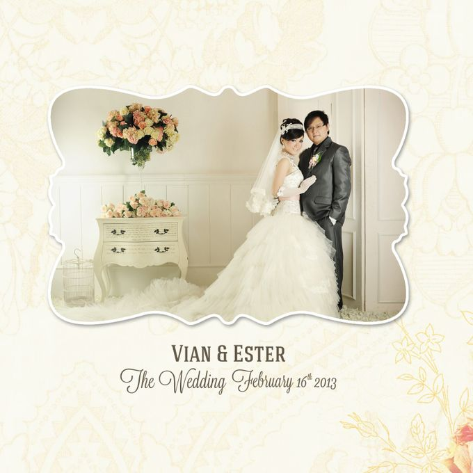 The Wedding Ester & Vian by C+ Productions - 002