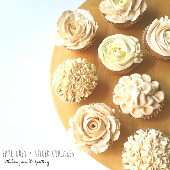 Floral Cupcakes by The Artisan's Apron - 003