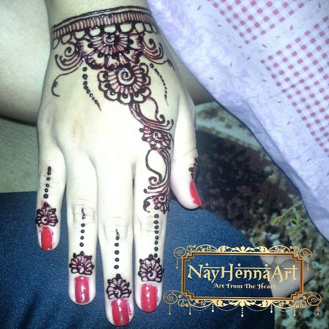 Henna or Mehndi For Fun by Nay Henna Art - 003